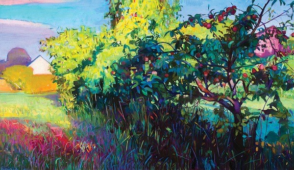 Charles Bashams Intended Garden at Jerald Melberg Gallery.