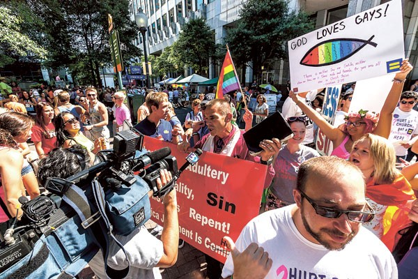 'Charlotte Pride Festival' by Ken Fager