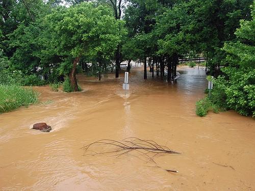 Charlotte Urban Flooding circa 2009
