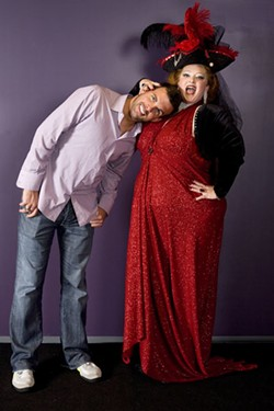 PHOTO BY ANGUS LAMOND - CHARLOTTES SEXIEST MAN AND WOMAN: Brotha Fred and Big Mamma D