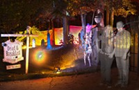 Mark and Chauna Gildersleeve set fire to expectations in Halloween-themed art installation