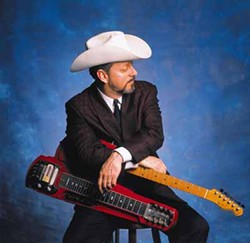 CHECK YOUR NECK: Junior Brown