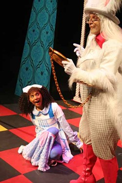 MERE IMAGES - CHECKING THE TIME: Performances of Alice in Concert will go down at ImaginOn's McColl Family Theatre April 17-May 3.