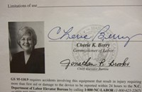 Cherie Berry: The predator lurking in our elevators