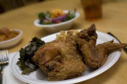 CATALINA KULCZAR-MARIN - CHICKEN DELIGHT: Be sure to experience the fried chicken at Sadie's Soulful Southern Experience.