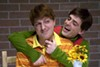 <p>CHILD'S PLAY: Ashby Blakely (left) and Jon Parker Douglas in <i>Tales of a Fourth Grade Nothing</i>.</p>