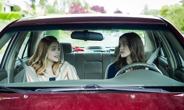 Chloë Grace Moretz and Keira Knightley in Laggies (Photo: A24)