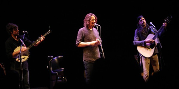 Chris Cornell with Scott and Seth Avett