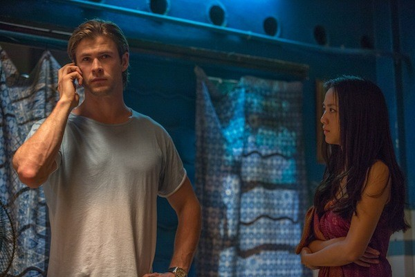 Chris Hemsworth and Tang Wei in Blackhat (Photo: Universal)
