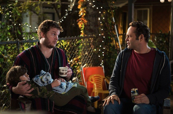 Chris Pratt and Vince Vaughn in Delivery Man (Photo: Disney)