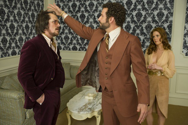 Christian Bale, Bradley Cooper and Amy Adams in American Hustle (Photo: Sony)
