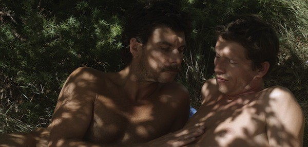 Christophe Paou and Pierre Deladonchamps in Stranger By the Lake (Photo: Strand Releasing)