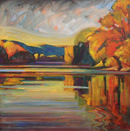 "Christopher Stephens' ""Autumn Down River"""