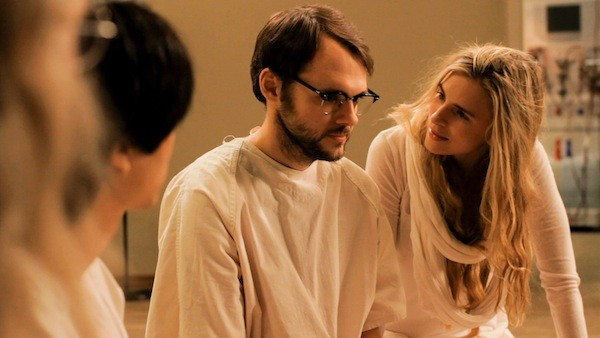 Chrstopher Denham and Brit Marling in Sound of My Voice (Fox Searchlight)