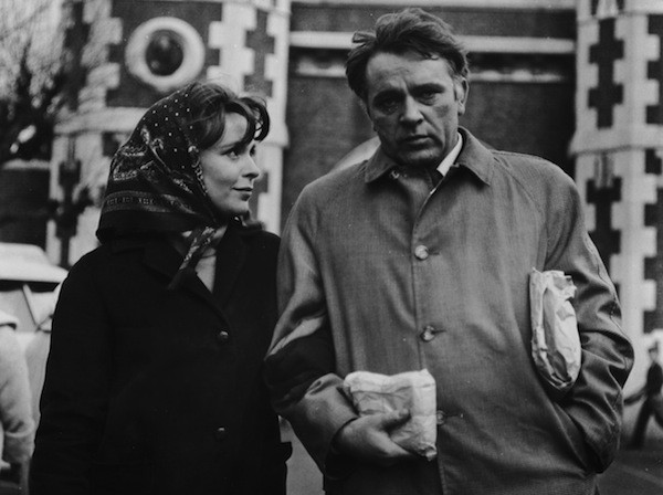Claire Bloom and Richard Burton in The Spy Who Came In from the Cold (Photo: Criterion Collection)