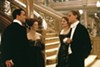 <p>CLASS ACT: Struggling artist Jack (Leonardo DiCaprio, right) prepares to break bread with upper-class denizens Cal (Billy Zane), Ruth (Frances Fisher) and Rose (Kate Winslet) in <i>Titanic.</i></p>