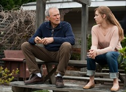 WARNER BROS. - Clint Eastwood and Amy Adams in Trouble with the Curve