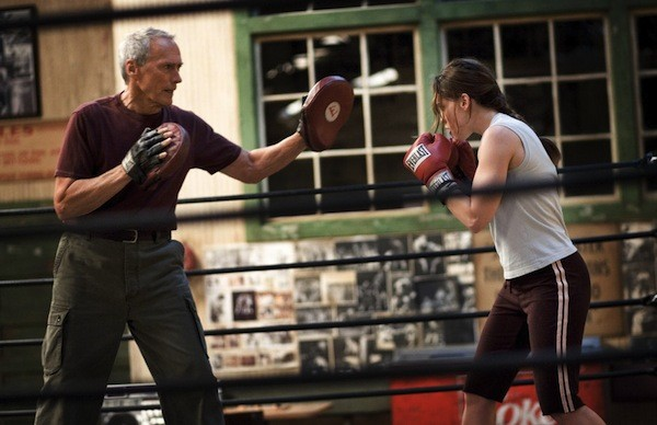 Clint Eastwood and Hilary Swank in Million Dollar Baby (Photo: Warner Bros.)