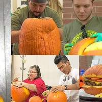 Carved competition gets local chefs sharpening their knives