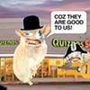 $2 off at Quiznos