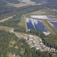 Coal ash ponds near Asheville