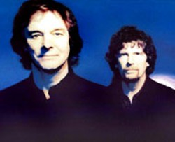 Colin Blunstone (foreground) and Rod Argent, two of - the founding members of the British Invasion group, - The Zombies, are finally touring under their famous - name
