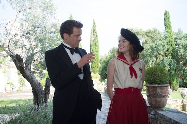 Colin Firth and Emma Stone in Magic in the Moonlight (Photo: Sony Pictures Classics)