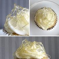 Creme brulee cheesecake cupcakes