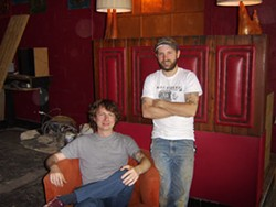 SCOTT WEAVER - COMING SOON: Daylon Brumfield (seated) and Scott McCannell will open Snug Harbor in early May.