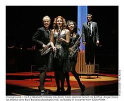 PAUL KOLNIK - COMPANY Elizabeth Stanley, Kelly Jeanne Grant, Angel Desai and Raul Esparza.