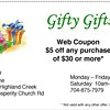 Coupon from Gifty Gifts
