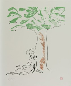 CHARLOTTE MUHL AND SEAN LENNON - Courtesy Yoko Ono & Legacy Fine Art