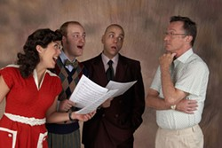 TOM COVINGTON - CPCC Summer Theatre presents the Musical Comedy Murders of 1940