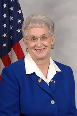 CRAZY LIKE A FOXX: N.C. Rep. Virginia Foxx