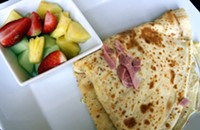 Crispy Crepe offers savory and sweet, uh, crepes