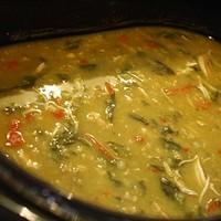 Crockpot Arsenal: Curry Chicken Soup
