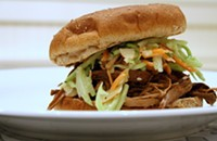 Crockpot Arsenal: Teriyaki Sesame Pork with Asian Slaw
