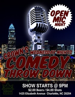 Crown's Comedy Throw Down Every Wednesday