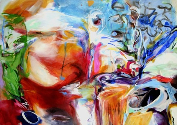 """""""Crucible"""" by Linda Luise Brown. Images courtesy of the artist."""