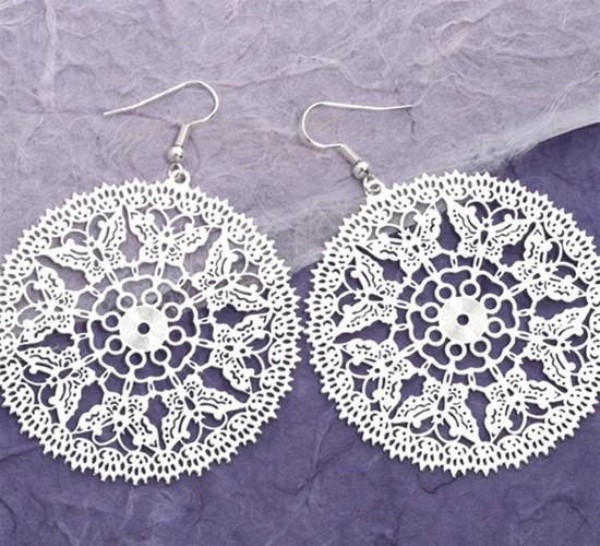 Dangle Filagree Earrings - The Jewel Box