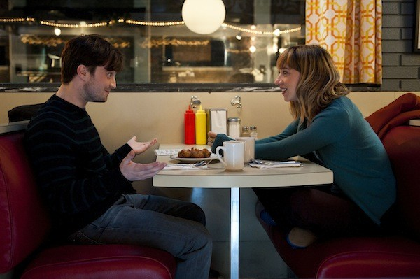 Daniel Radcliffe and Zoe Kazan in What If (Photo: CBS Films)