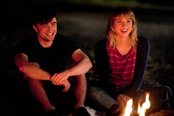 Daniel Radcliffe and Zoe Kazan in What If (Photo: Sony & CBS Films)