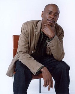 """Dave Chappelle is known for his comedic take on """"The Niggar Family."""" - ERIN PATRICE O'BRIEN"""