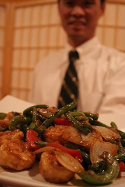 CATALINA KULCZAR - David Zhou with Basil Shrimp