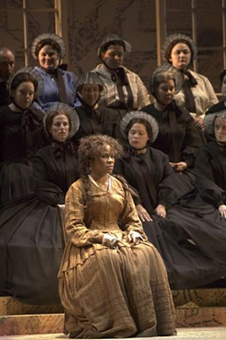 JOHN GRIGAITIS/COURTESY OF MICHIGAN OPERA THEATRE - Denyce Graves from the Metropolitan Opera plays the title role in Margaret Garner