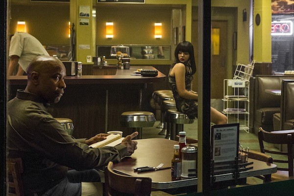Denzel Washington and Chloë Grace Moretz in The Equalizer (Photo: Columbia)