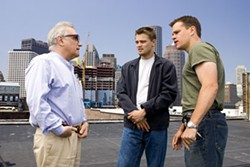 ANDREW COOPER / WARNER BROS. - DEPARTING GLANCES Martin Scorsese directs Leonardo DiCaprio and Matt Damon in The Departed, a film that might finally win the acclaimed filmmaker his first Academy Award