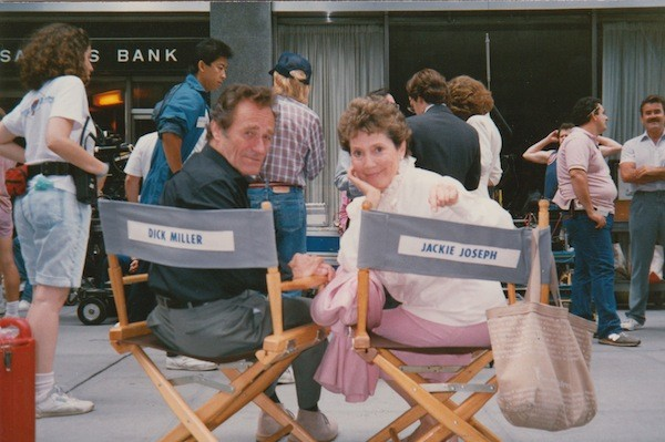 Dick Miller on the set of Gremlins 2, as seen in That Guy Dick Miller