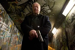 SAMUEL GOLDWYN FILMS - DIRTY HARRY: Michael Caine in Harry Brown