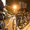 DNC in photos: An impromptu Monday night protest